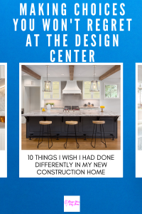 What I Wish I Did Differently At The Design Center