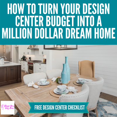 Design Center Upgrades To Make Your House Look Like A Million