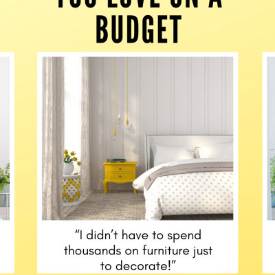 How To Create A Bedroom You Love Without Spending Thousands On Big Ticket Furniture Items