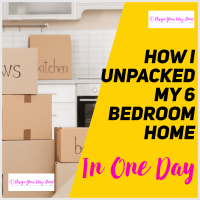 The Secret Strategy To Unpack Your New Home In A Day